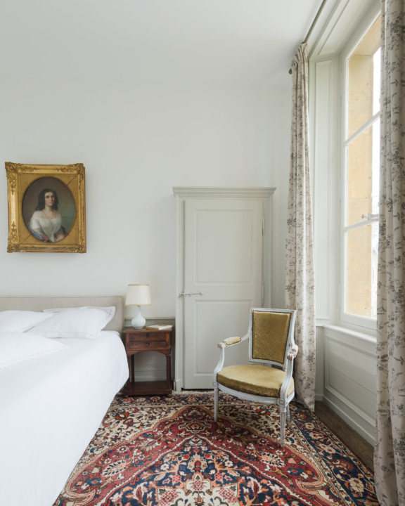 Chambre chinoise – Château de Martigny
